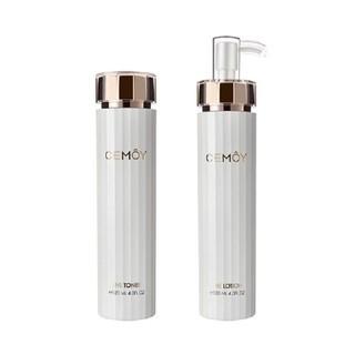 CEMOY 安瓶白金流明 肌底修护精华水乳套装(精华水 120ml+精华乳液 120ml)
