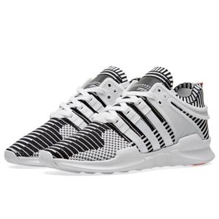 adidas 阿迪达斯 EQT Boost Support 93/17 男子跑步鞋 白斑马