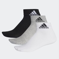 adidas 阿迪达斯 男女训练运动袜 3双装