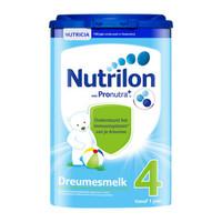 欧洲原装进口 诺优能荷兰版 (Nutrilon) 荷兰牛栏 幼儿配方奶粉 4段(12-24月) 800g 易乐罐 *4件