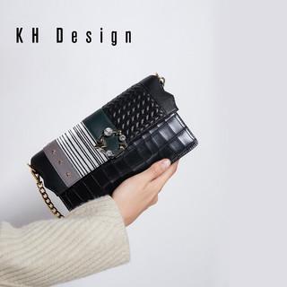 KH Design 明治 K1197 欧美风链条时尚斜挎包