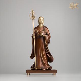 铜师傅 全铜摆件《地藏王之一》家居饰品 铜工艺品 佛像摆件
