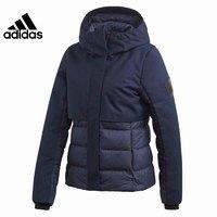 adidas 阿迪达斯 DZ1483 女子运动连帽羽绒服外套 L