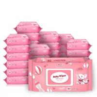 小布头儿 婴幼儿手口湿巾 80片+30包*10件