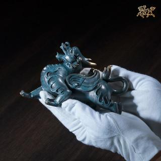 铜师傅 全铜摆件饰品 威猛貔貅 小号 M2070208