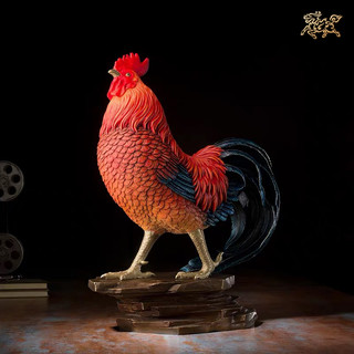 铜师傅 全铜摆件《大鸡大利》铜工艺品 家居饰品 礼品 摆件