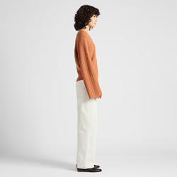 女装 羊毛宽袖针织衫(长袖) 420980 优衣库