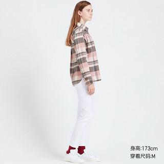 女装 法兰绒格子衬衫(长袖) 421607 优衣库UNIQLO