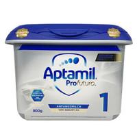 德国原装进口 爱他美(Aptamil) 白金版婴儿配方奶粉 1段 800g/罐 *2件