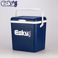 京东PLUS会员 : ESKY 爱斯基 便携户外小冰箱保鲜箱 钓鱼专用箱 26L *2件