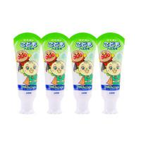 狮王面包超人儿童牙膏哈密瓜味 40g四支装