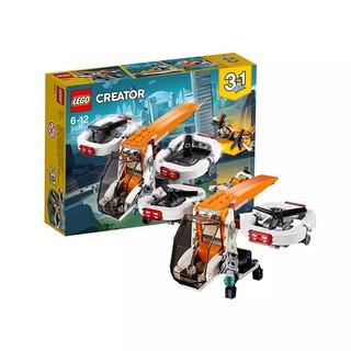 移动专享 : LEGO 乐高 创意百变系列 31071 双旋翼无人机