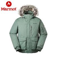 Marmot/土拨鼠新款秋冬防水加厚户外羽绒服700蓬拒水羽绒