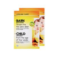 Lifeline care 婴幼儿鱼油 30粒 2盒