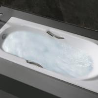 TOTO 东陶 FBY1530 嵌入式浴缸 有扶手 1.5米 不含排水配件