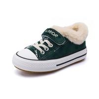 WARRIOR 回力 儿童加绒棉鞋