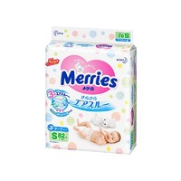 Merries 妙而舒 婴儿纸尿裤 S82片 4包装
