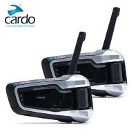 Cardo JBL摩托车头盔蓝牙耳机内置对讲机一体式无线
