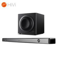 惠威(HiVi)K1000+SUB 8A+音响 音箱 家庭影院套装 可挂式回音壁SoundBar 电视音响低音炮