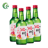 Jinro 真露 李子味烧酒 360ml*4瓶