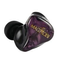 MAGAOSI 麦高思 V3 2铁1圈三单元圈铁耳机 0.78-2pin 紫色