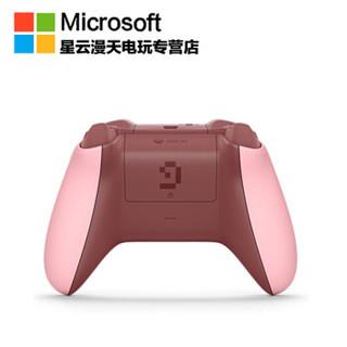 Microsoft 微软 xbox one S 我的世界PIG粉色限量版手柄