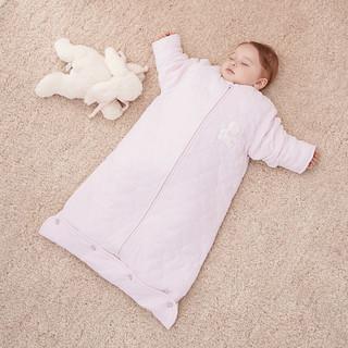 英氏新生儿睡袋宝宝婴幼儿防踢被儿童长袖夹棉保暖睡袋秋冬