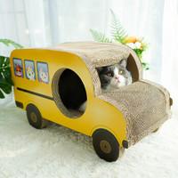 kedi 可狄 巴士猫抓板 瓦楞纸玩具