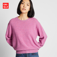 UNIQLO/优衣库 418679 女士圆领针织衫