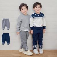 YEEHOO 英氏 10792239 男宝宝儿童裤子哈伦裤
