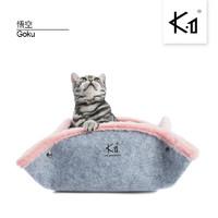 K.1 猫咪系列 582797257860 K1宠物家居新款悟空猫窝