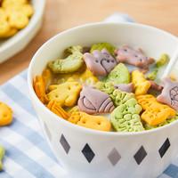 咔尼可 营养高钙动物蔬菜饼干 120g*2罐