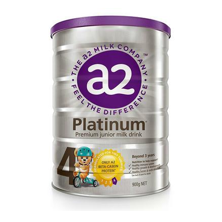 a2 艾尔 白金系列 婴幼儿配方奶粉 4段 900g