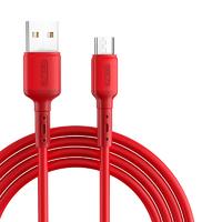 ASZUNE 艾苏恩 液态硅胶 Micro-USB数据线 0.3-1.88米 2条装