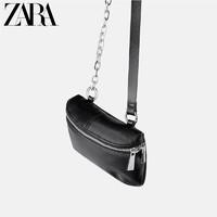 ZARA新款 TRF 女包 JOIN LIFE 黑色腰包型挎包 17650004040
