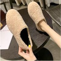 女士加绒豆豆鞋 36-40码