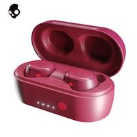 骷髅头(Skullcandy)Sesh小魔豆真无线蓝牙耳机 IP55防水防尘 深红色