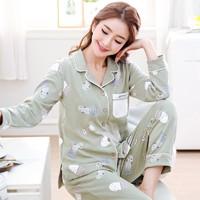 YUZHAOLIN 俞兆林 WJJ-DM008 女士睡衣套装