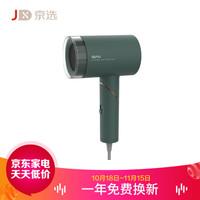 京选  诗杭吹风机家用负离子护发不伤发低辐射母婴孕妇用电吹风筒 复古绿cl-502