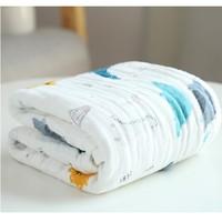 grace 洁丽雅 6层纯棉婴儿纱布浴巾  *2件