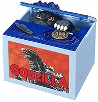 Happy Sales HSCB-GODZL,Godzilla 小猪存钱银行自动存钱罐 HSCB-GODZL Godzilla