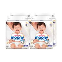 moony 尤妮佳 Natural 皇家系列 婴儿纸尿裤 M号 64片 *4件