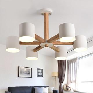 HAIDE 海德照明 MD03391 北欧风格吊灯 6头款
