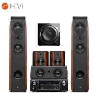 HiVi 惠威 D3.2HT+Sub10G+天龙X518 家庭影院音响套装 5.1声道