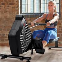 锐步(Reebok)划船机 家用划船器静音电磁控折叠运动健身器材全新款12050 ZS