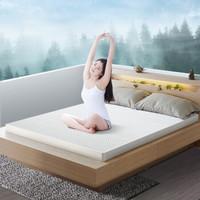 妮泰雅Nittaya乳胶床垫泰国进口天然折叠乳胶垫 5cm(送2个按摩枕) 150*200