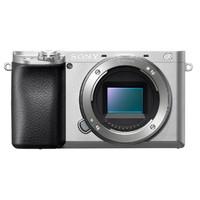 索尼(SONY)ILCE A6100L(16-50+55-210)银色 数码微单相机 双镜头套装 约2420万像素