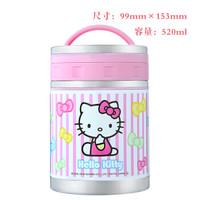 skater 斯凯达日本进口Hello Kitty焖烧罐便当盒学生保温饭盒焖烧杯 365041