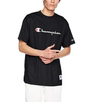 Champion 草写 logo 男士速干短袖T恤