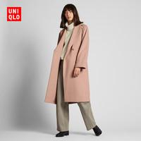 UNIQLO 优衣库 420232 女士羊毛混纺大衣